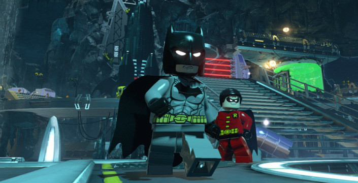 Lego Batman 3 Batcave