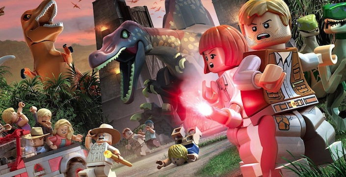 Lego Jurassic World Cast