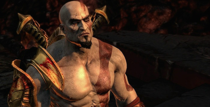 God of War 3 Remastered Kratos