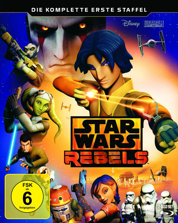 Star Wars Rebels Staffel 1 Cover