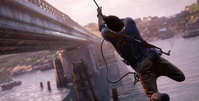 Uncharted 4 Grappling Hook