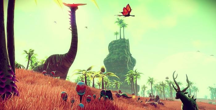 No Man's Sky Planet