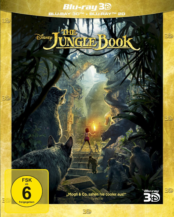 the jungle book 2016 Blu Ray Cover
