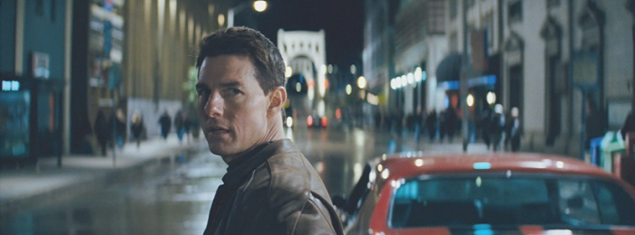 Jack Reacher Red Car Film