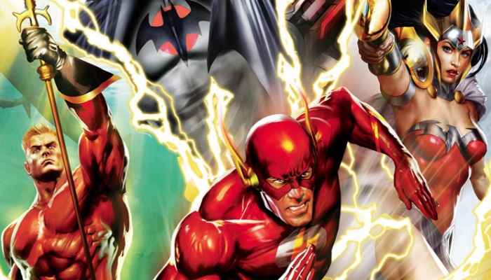 Justice League: The Flashpoint Paradox Cast Film