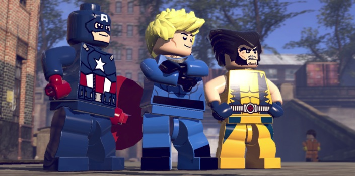 Lego Marvel Super Heroes A