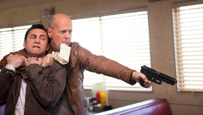 Looper Film Bruce Willis and Joseph Gordon-Levitt