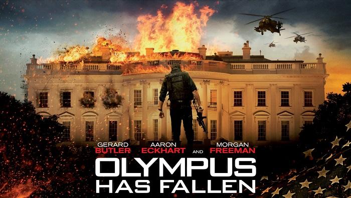 Olymus Has Fallen Gerard Butler Film