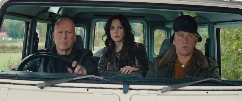 R.E.D. 2 Film Bruce Willis Mary-Louise Parker John Malkovich