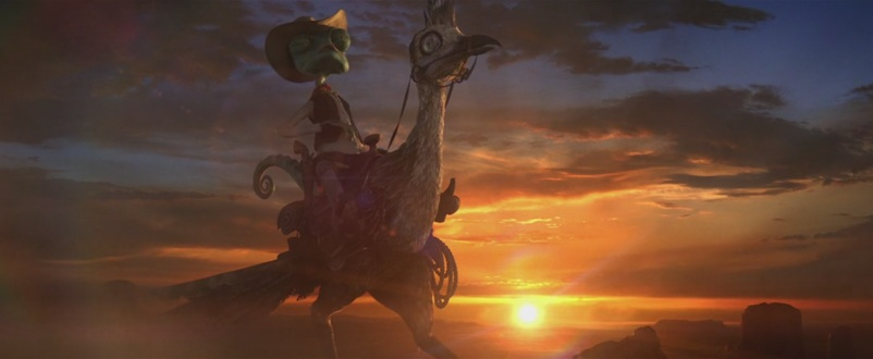 Rango Johnny Depp Film