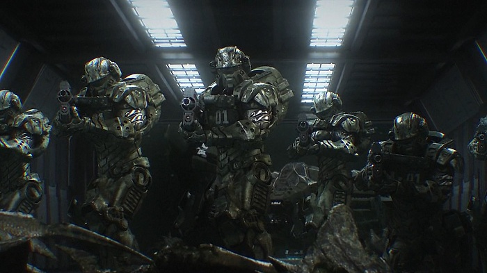Starship Troopers Invasion Animation Film
