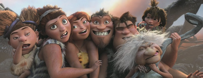 The Croods Film Family