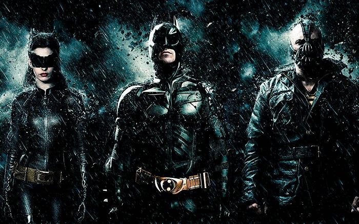 The Dark Knight Rises Film Batman Catwoman Bane