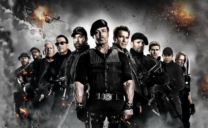 The Expendables 2 Film Cast