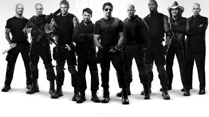 The Expendables Film Cast
