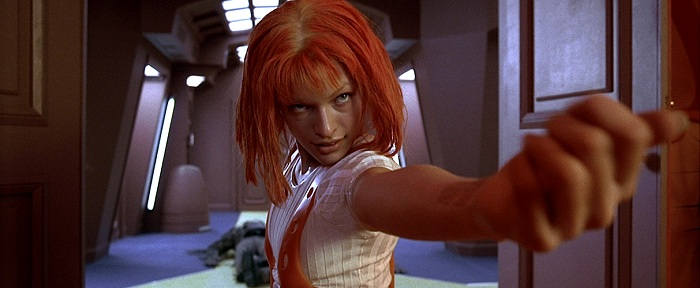 The Fith Element Film Milla Jovovich