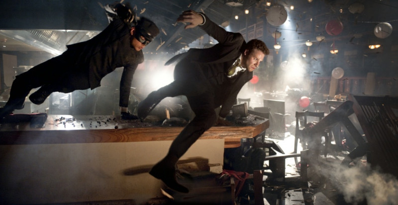 The Green Hornet Film Seth Rogen Jay Chou