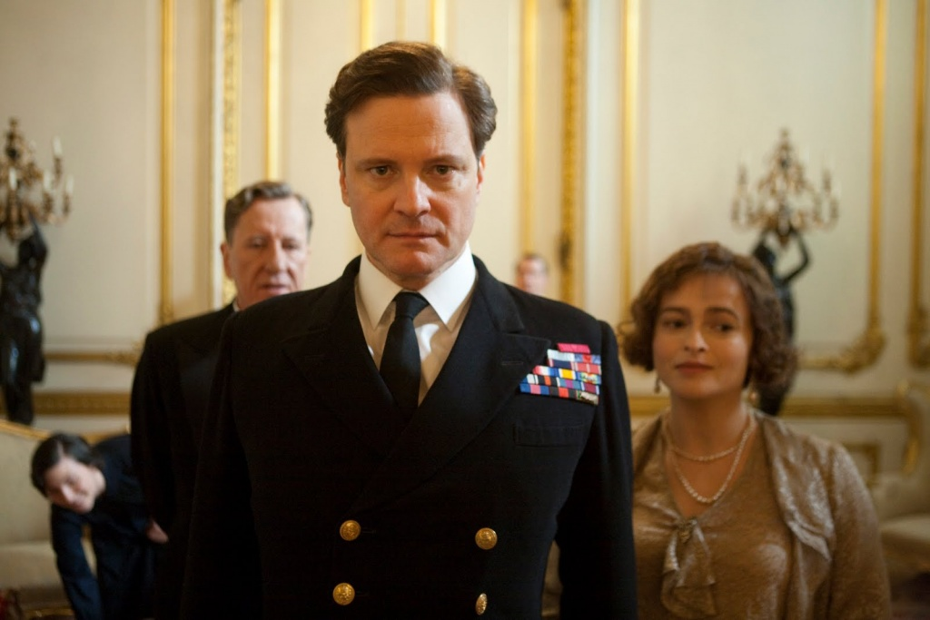 The Kings Speech Film Colin Firth Helena Bonham Carter Geoffrey Rush