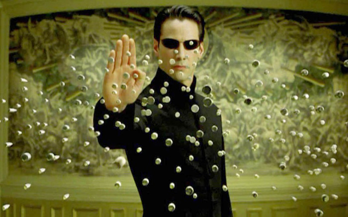 The Matrix Reloaded Film Keanu Reeves