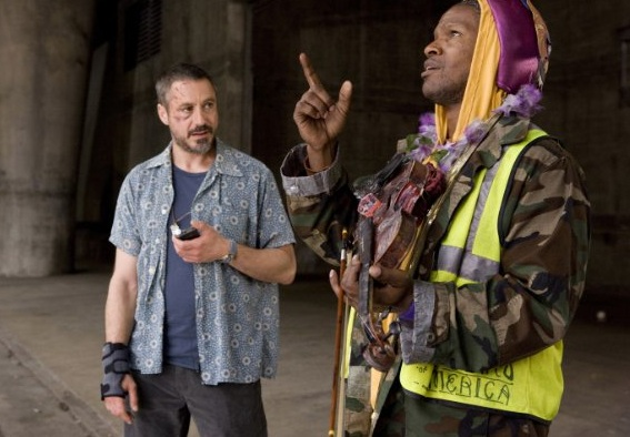 The Soloist Film Robert Downey Jr Jamie Foxx