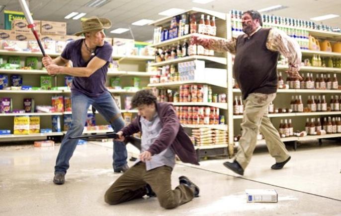 Zombieland Film Jesse Eisenberg Woody Harrelson