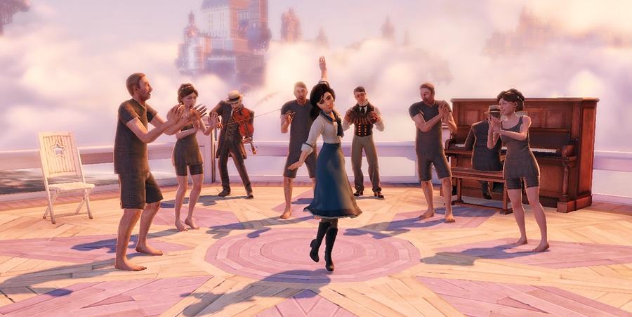 bioshock infinite elizabeth dancing